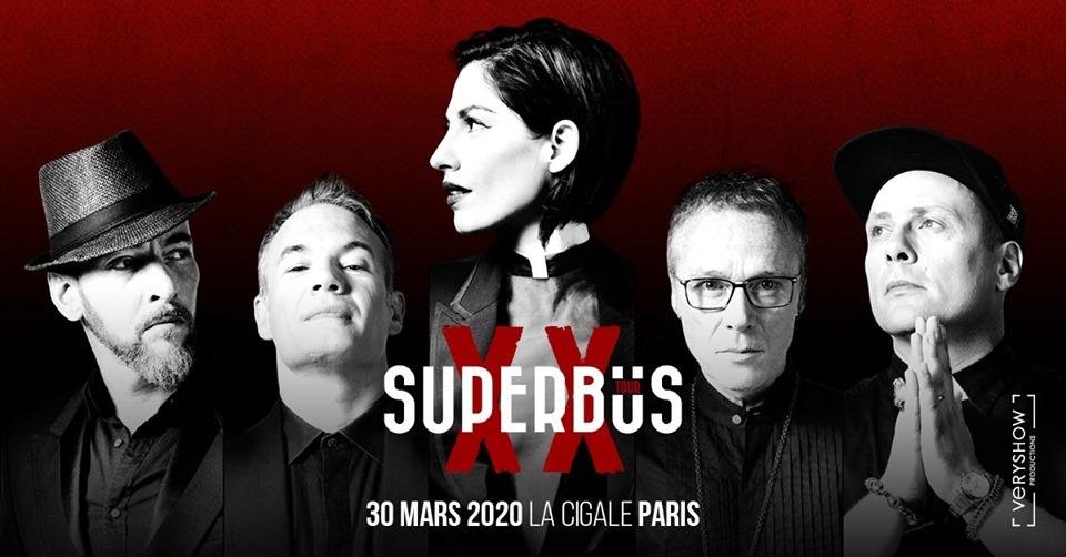 Superbus, 20 ans de carrière